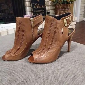 Vince Camuto Brown Booties/Heels
